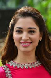 Tamannaah at Bengal Tiger Movie Press Meet