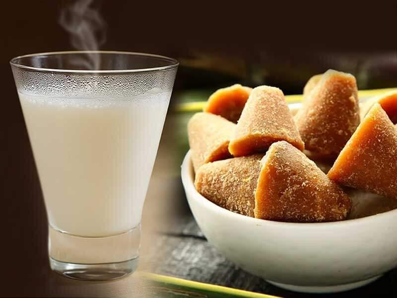 milk jaggery