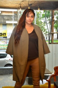 Actress Namitha @ Bobby's Bistro Christmas Cake Mixing Ceremony Stills