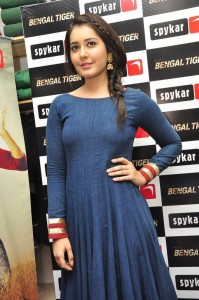 rashi-khanna-latest-blue-dress-1