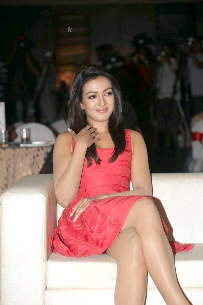 Catherine Tresa At Intex Air Conditioners Launch