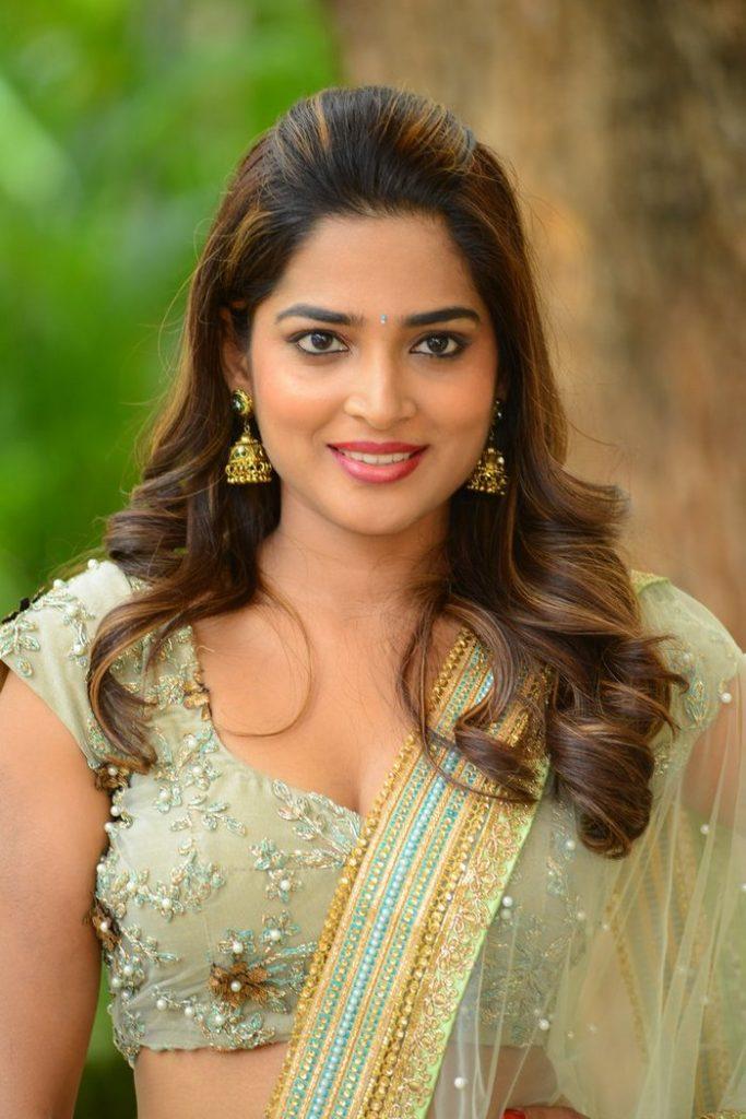 Anagha at Guna 369 Movie Trailer Launch