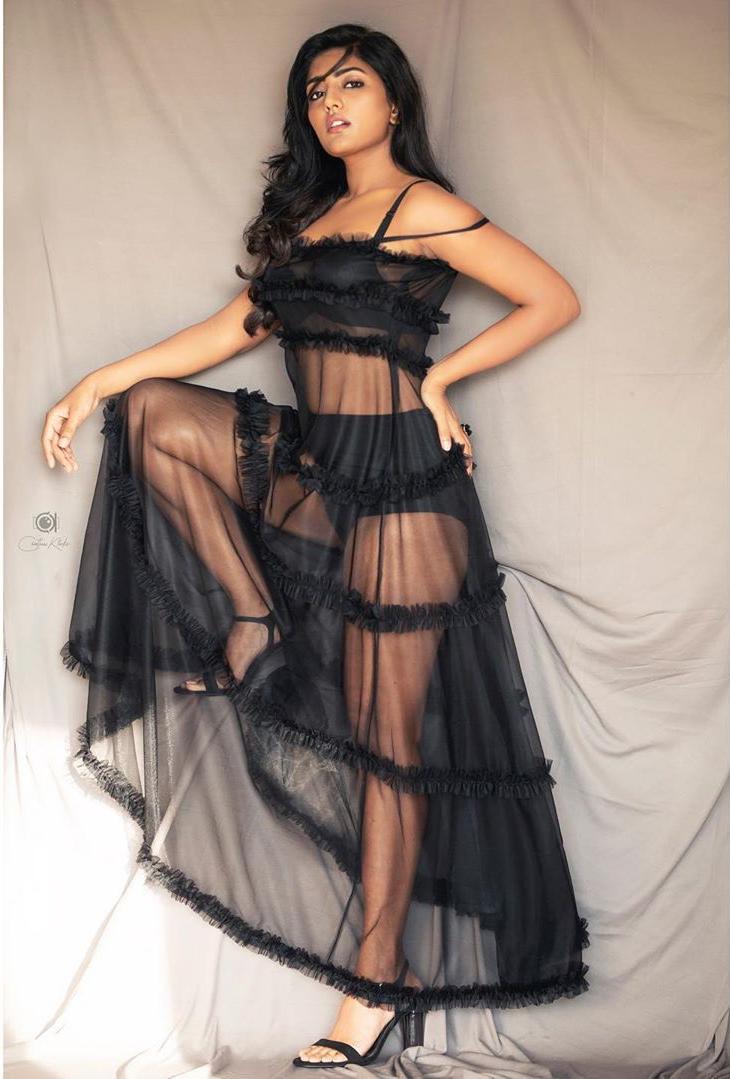 Eesha Rebba Hot photo shoot in block freshga