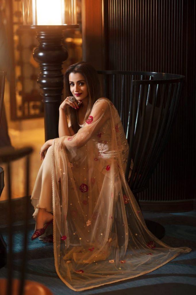 Trisha Krishnan freshga