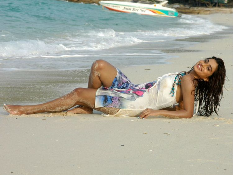 Dimple Chopade Hot in Beach Gallery